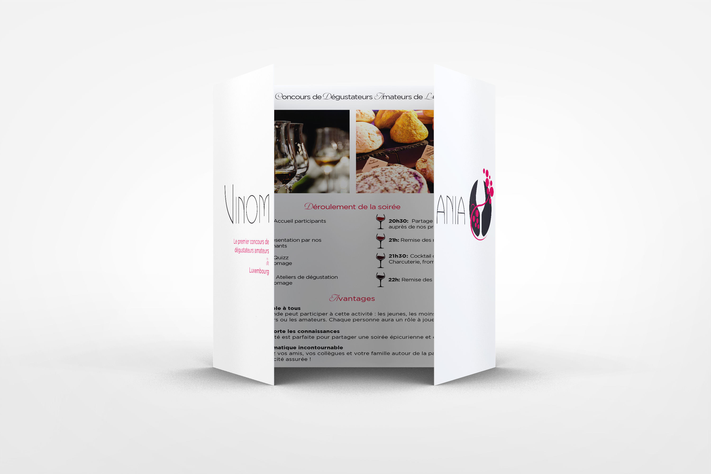 Brochure Angels Evans Agency Anne-Sophie Lens Graphiste Freelance